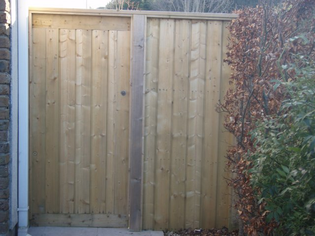 Pressure Treated Shiplap Side Gate & Panel Wicklow